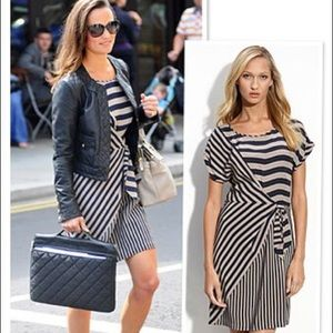 BCBG Striped Dress ASO Pippa Middleton Size L